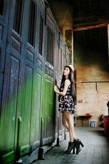Hello World Canon China The Beauty 佳能 美女 Portrait Photography 人像 摄影 Enjoying Life