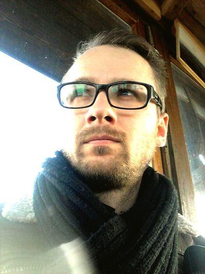 Hammerglass Beard Beardman Man Autumn Czech Republic Moravia