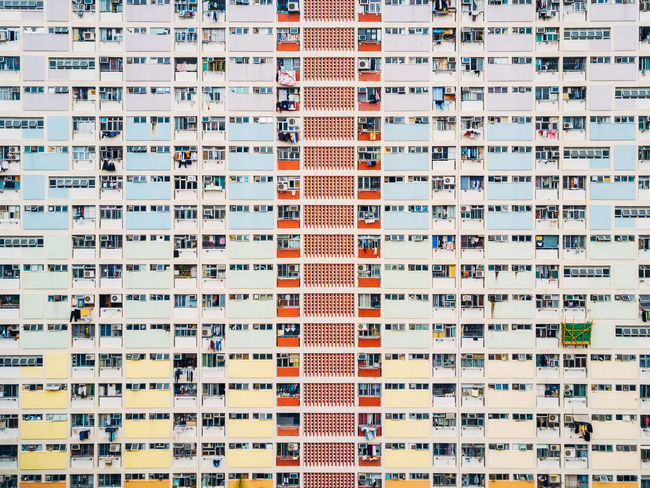 Apartment Architecture Building Exterior Built Structure City Cityscape Community Day Full Frame Housing Development No People Outdoors Residential  Residential Building Window