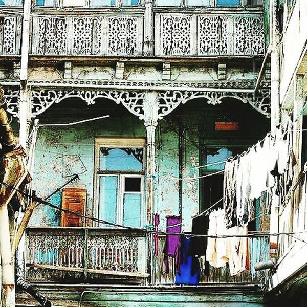 Hello World Old Tbilisi Georgia Biutifull Photo