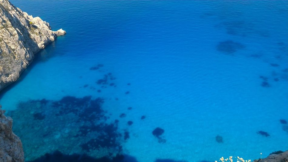 Bubó Travel Travel Photography Zakynthos Zakynthos Island Beach Beachphotography Beauty In Nature Blue Day Greece Greece Islands High Angle View Holydays Nature No People Outdoors Rock - Object Scenics Sdrobo Sea Tranquil Scene Tranquility Travel Destinations Water