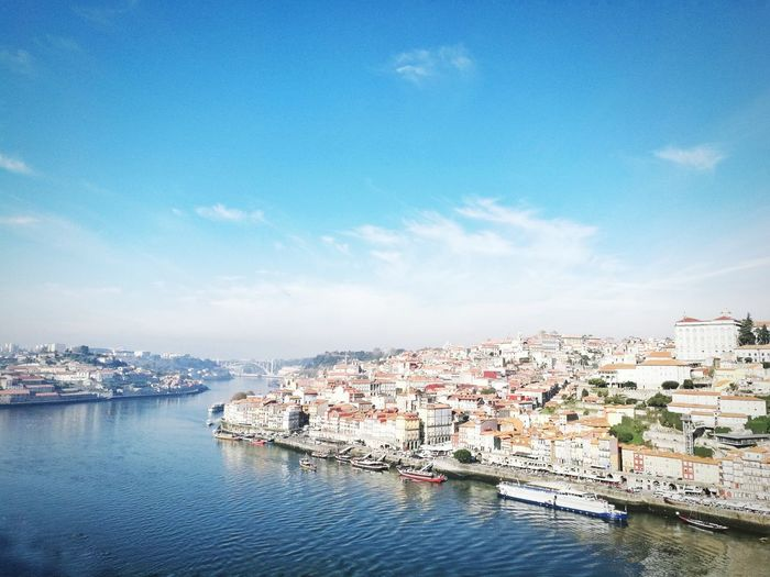 Blue Sky Sea Water Day Beauty In Nature No People Outdoors Cloud - Sky Nautical Vessel Scenics Nature Astrology Sign Europe Eurotrip Portugal Porto Travel Travel Destinations