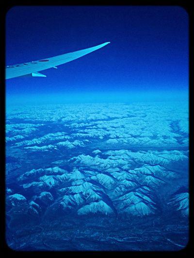 Au dessus de l alaska Flyght On Vacation Thailand Japanairlines