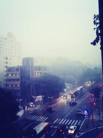 rain.. Saopaulo Rain Av. Rebouças