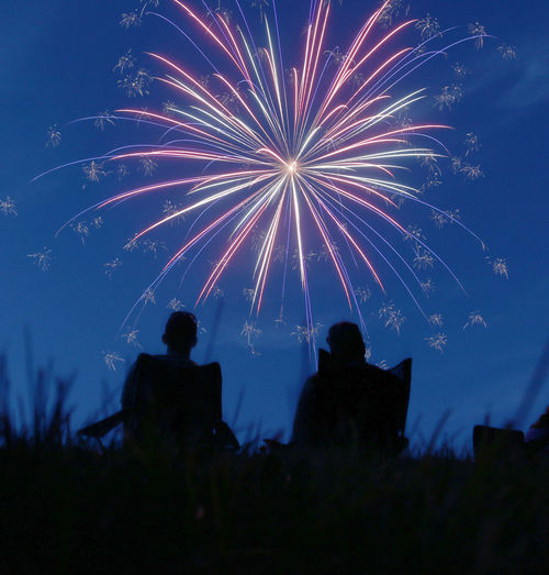 4th Of July America Fireworks Fourth Of July Montana 4th Of July Montana Living Silhouette Silhouette With Fireworks