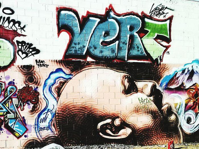 Alley art off the railroad tracks