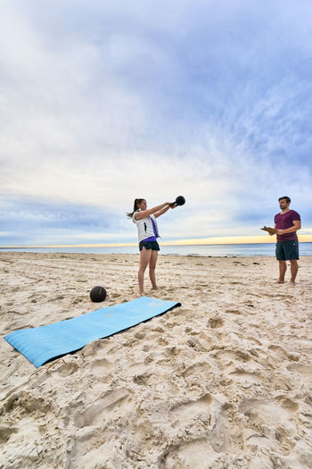 Australian Lifestyle Beach Fit Fitness Stay Healthy Training Workout