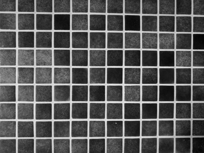 Pattern Pattern Piastrelle Full Frame Backgrounds Indoors  Textured  Blackandwhite No People