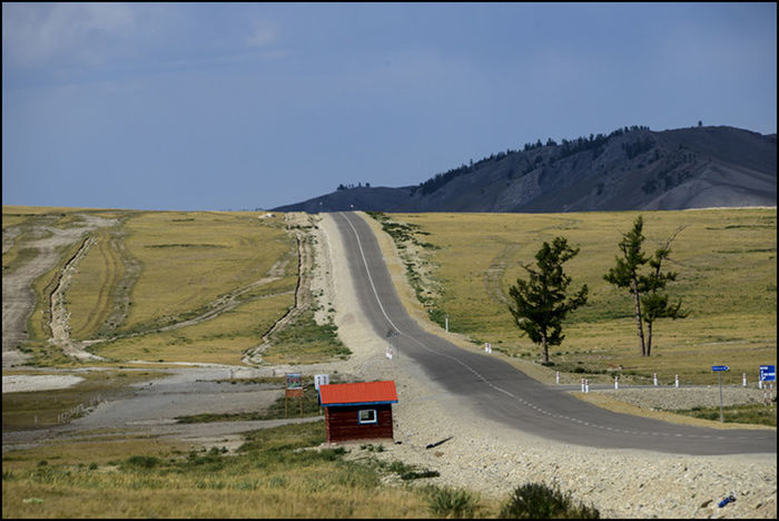The road , Travelling, Countryside, Mongolia