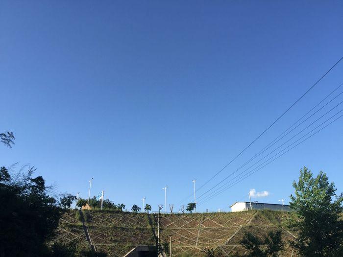 House Blue Sky Blue Sky