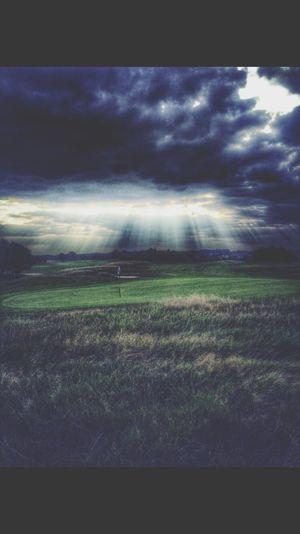 Golf Golf Course Cams Shining Through