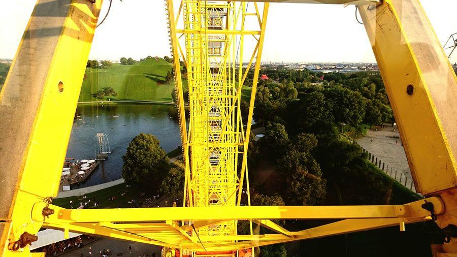 München_Munich Yellow Sky Industry First Eyeem Photo Riesenrad