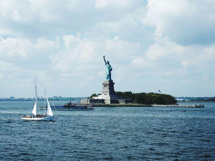 Freedom Lady. New York New York City Statue Of Liberty Statue Liberty Freedom