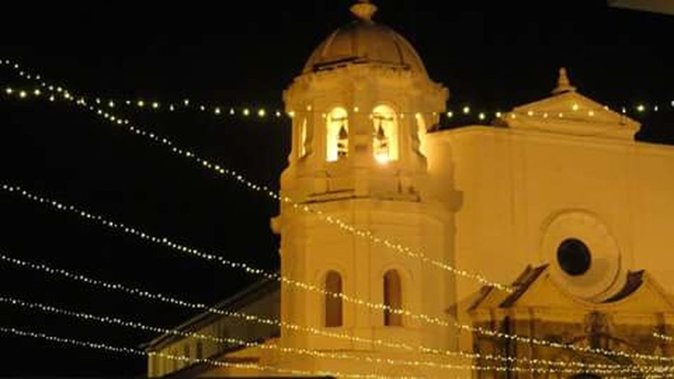 Noche de museos Popayán Colombia Architecture Night Yellow Illuminated Built Structure