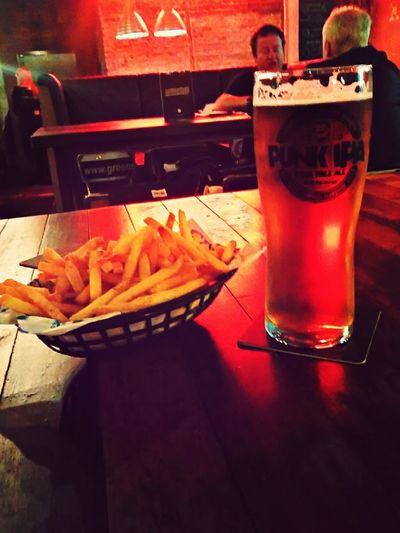 PUNK IPA at Brewdog Cardiff Beer