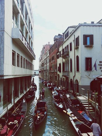 Architecture Canal Mode Of Transport Water Travel Destinations Gondola - Traditional Boat Day Outdoors Transportation Venezia Venedig Venedig Gondeln Italia Italy