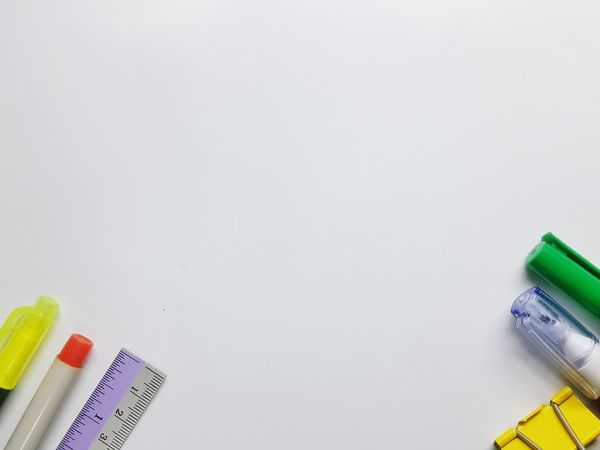 Copy Space Indoors  White Background Education Multi Colored No People Close-up Day Tool Kit Finance White Background Indoors One Man Only White Color Backgrounds Office Tools Color Tools Business Finance And Industry Paper Adhesive Note Indoors  Indoors  Indoors  Indoors  Office