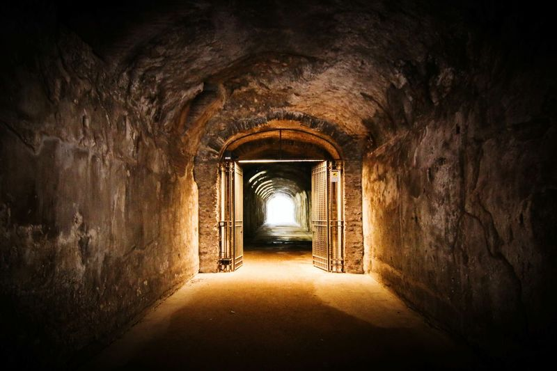 Undergroundtunnel at Palatino in Roma, Itàlia. Palatine Hill Rome Ancient Architecture Romanhistory Museum Monuments Oldworld