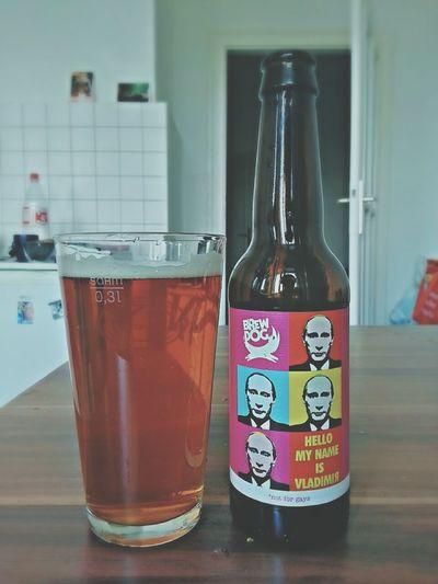My name is Vladimir. NotForGays Craft Beer