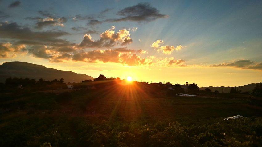 Sunset Cloudysky Summersunset