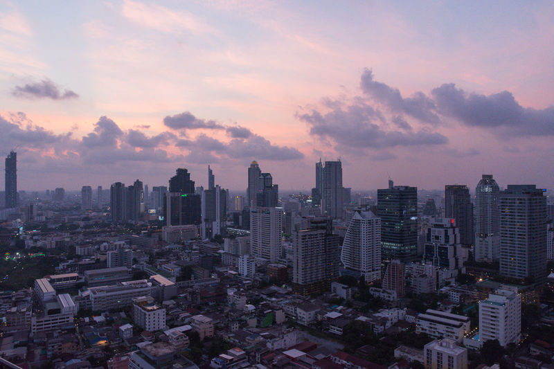Bangkok Bangkok Thailand. Architecture Building Building Exterior Built Structure City Cityscape Cloud - Sky Crowd Crowded Financial District  Modern Nature Office Office Building Exterior Outdoors Residential District Sky Skyscraper Sunset Tall - High Tower