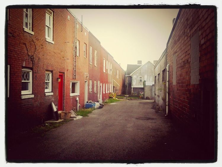 Buildings My Town Back Alleys Small Town USA