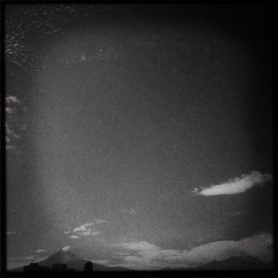 Oscuro Popo. Sky B Puebla Popocatepetl Cholula Byn Igerspuebla Cielos