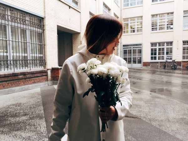 It's a match Match Flower Girl Raincoat Berlin