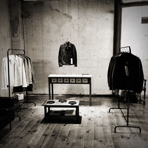 Private Exhibition in 2014 Unus Exhibition Handmade Made In Japan Craftsmanship  Leather Jacket Mensfashion Menswear Artisan