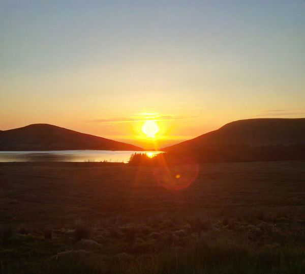 Spelga Sunset Ireland Landscapes Ireland Picture Perfect Picturesque Sky Mountain Beauty In Nature Scenics Tranquility Nature Landscape Sunlight Sun Mountains Lake Spelga Dam Mourne Mountains EyeEm Selects