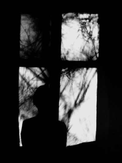 Morning That's Me Blackandwhite Frombehind Time To Reflect