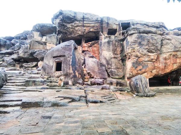 Caves Photography Hidden Gems  Carved Rock Khandagiricaves Udayagiricaves Caves Rocks in Bhubaneswar Odisha India