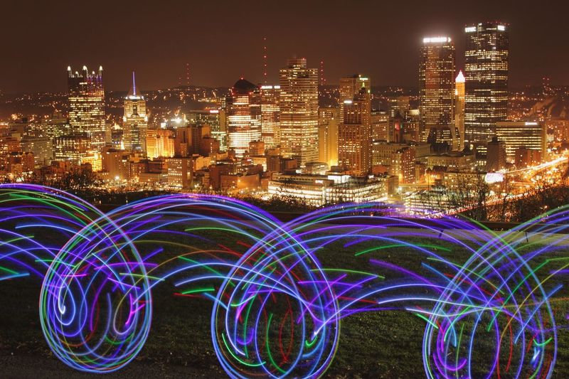 Painting Pittsburgh tonight Pittsburgh 412 Pennsylvania Hulahoop Hulahooping LED Led Hula Hoop Cityscapes Cityscape