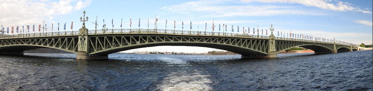 St. Petersburg Russia Architecture Built Structure St. PETERSBURG Russia Bridge Over Water City Bridge - Man Made Structure Bridge Arch Bridge