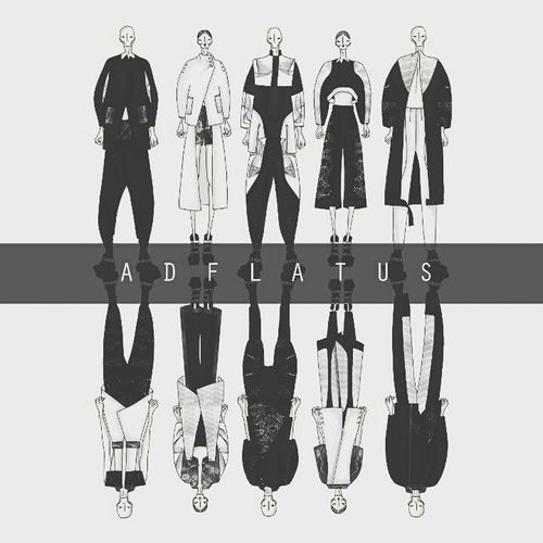 Collection Art Fashiondesign Fashionsketch spring summer collection of ADFLATUS for my fashion design project.