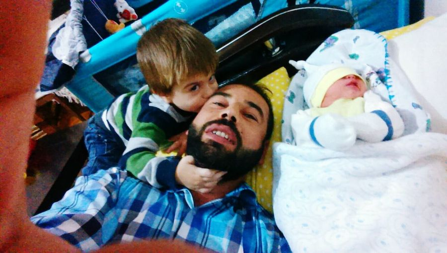 Abim ve yeğenlerim
