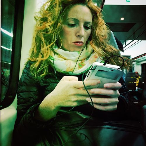 Woman Streetphotography Movilgrafias