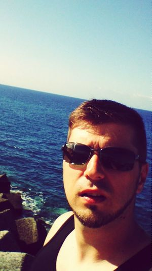 Selfie Self Portrait Taking Photos Enjoying Life Holiday Check This Out Blue Sky That's Me