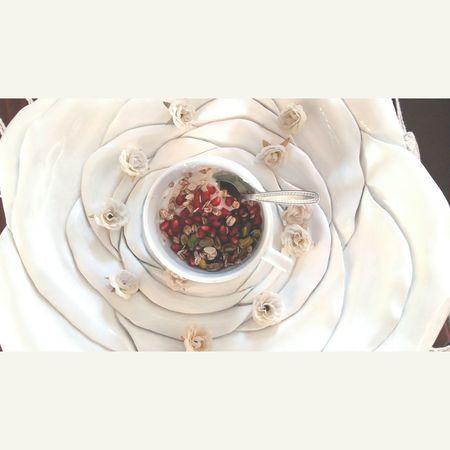 Greekyogurt Oat Pomegranate Pistachios