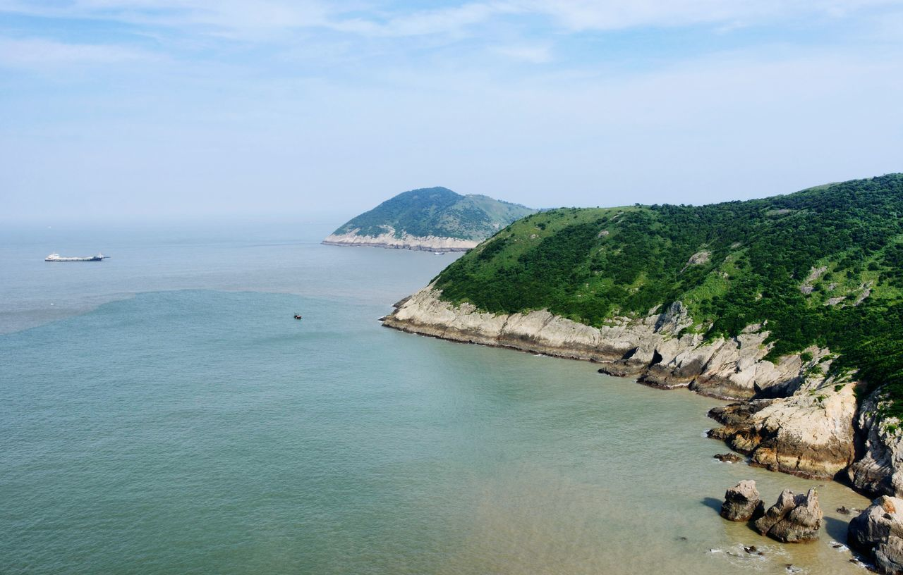 Scenic View Of Sea