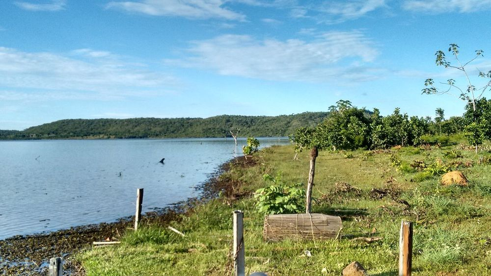 perfect place! Brazil Reflex Silhouette Beauty In Nature Blue Sky Cloud - Sky Grass Green Color Lake Nature No People River Sky Sunset Tranquil Scene Tranquility Tree Water
