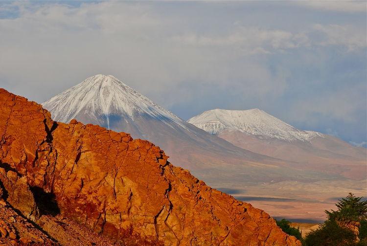 Atacama desert Beauty In Nature Mountain Peak Mountain Range Non-urban Scene Remote Rocky Mountains Scenics Travel Destinations