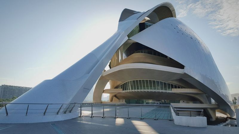Perspective Architecture Rhythm Lines, Shapes And Curves Shadows Sunlight Public Space Textures And Surfaces Valencia, Spain Memories City Break