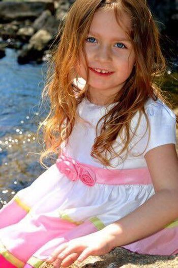 One Girl Only Child Children Only Girls One Person Portrait Childhood Looking At Camera Long Hair People Outdoors Smiling Blond Hair Day Sea Close-up Flower Water Nature Adult