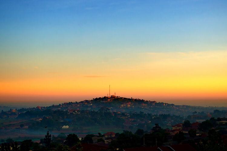 Kampala Uganda  Africa East Africa Tropics Development Developing Country Travel Destinations Outdoors Scenics Urban Skyline Sky Landscape Climate Nature Tropical Low Light