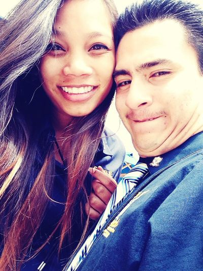 Silly faces and smiles with my love <3 SHPE Smile Being Silly Love