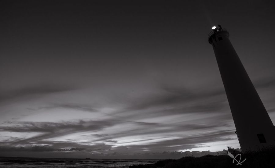 The Lighthouse at Barbers Point on Oahu Hawaii Blackandwhite EyeEm Best Shots - Black + White EyeEm Best Shots - Sunsets + Sunrise EyeEm Best Shots EyeEm Best Edits Check This Out Only In Hawaii