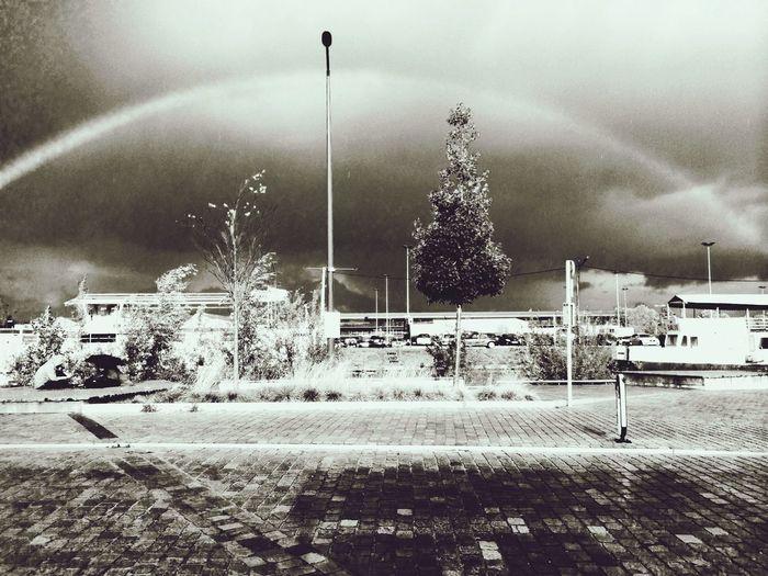 ? First Eyeem Photo Blackandwhite Streetphotography Rainbow
