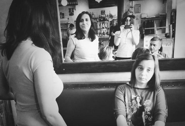 Friends Coffeetime Group Selfie Selfie