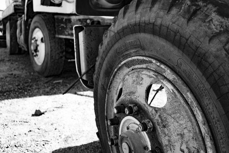 Trucking along. Tucson Az Photography Blackandwhite Photography Train Yard Urbandecay Bigwheel Tresspassing Forgotten Things Thephotographer Old Truck